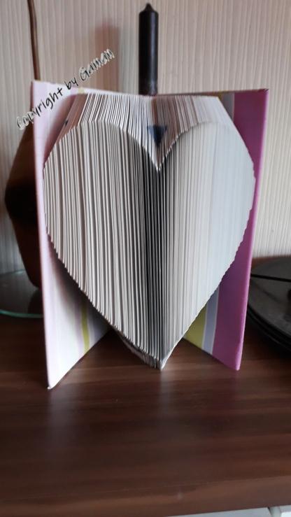 Einfaches Herz ~ 45° Faltung