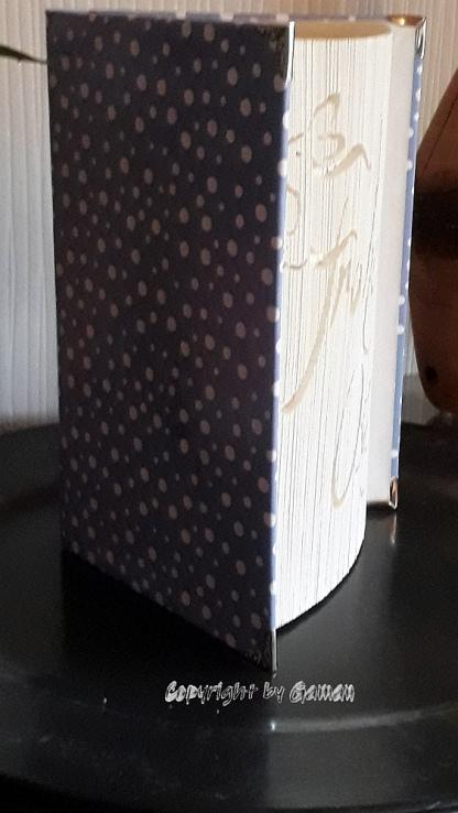 Frohe Ostern - Hardcover-Buch mit 317 Seiten ~ einfache 180° Faltung ~ Cover neu gestaltet; mit Buchecken verziert