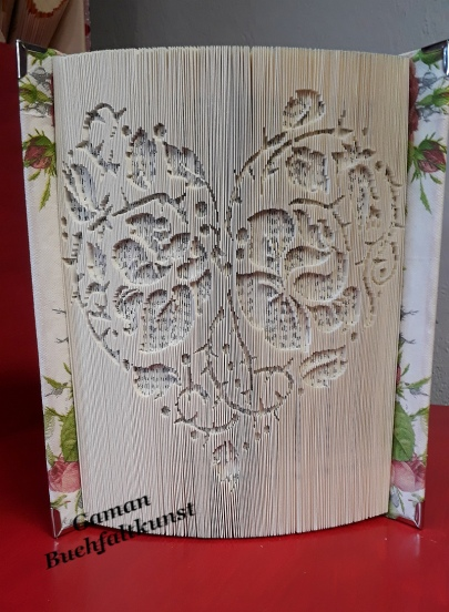 Hardcoverbuch - 180° Faltung ~ Cover neu gestaltet; mit Buchecken versehen